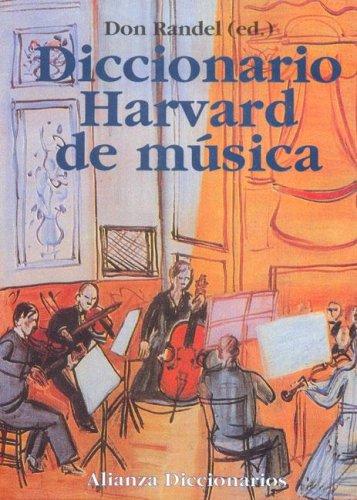 Descargar Libro Dicc. Harvard De Musica Don Randel
