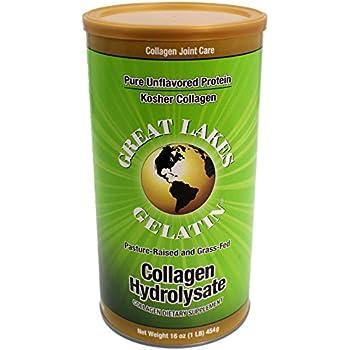Great Lakes Gelatin Collagen Hydrolysate Beef, Kosher, 16 oz.