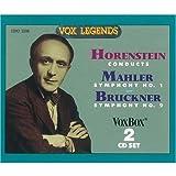 Horenstein Conducts Mahler Symphony No. 1 / Bruckner Symphony No. 9