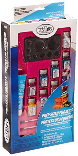 Testors Pint Size Projects Activity Paint Kit, Hobby/Crafts