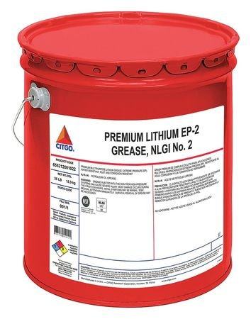 Grease, Lithium EP, Dark Amber, 35 Pound by Citgo