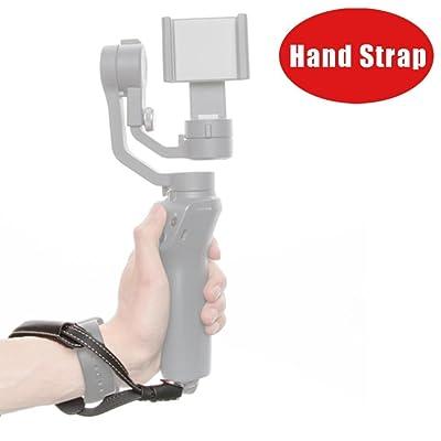 Diadia Dragonne Lanière Ceinture réglable Sling Mobile portatif Smartphone Gimbal pour DJI Osmo Mobile 2