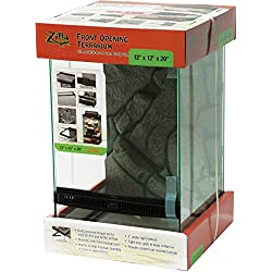 """Zilla Front Opening Terrarium 12"""" x 12"""" x 20"""", 1 Count"""