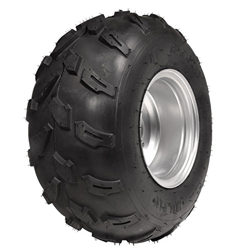 HAIGE 四輪バギー ATV ホイール付タイヤ 8インチ 18×9.50-8 HG-TH008 C※ 左タイヤ B00Y277DZC