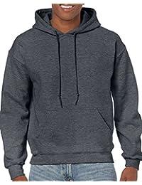 Gildan Mens Big-Tall Heavy Blend Fleece Hooded Sweatshirt G18500