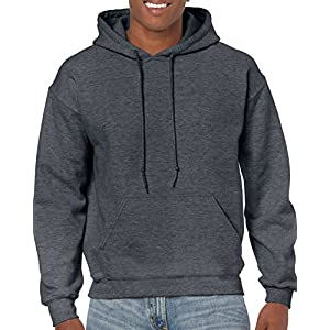 Gildan Men's Fleece Hooded Sweatshirt G18500 Heavy Blend Sweatshirt