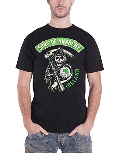 Sons Of Anarchy T Shirt Ireland Official Mens Black