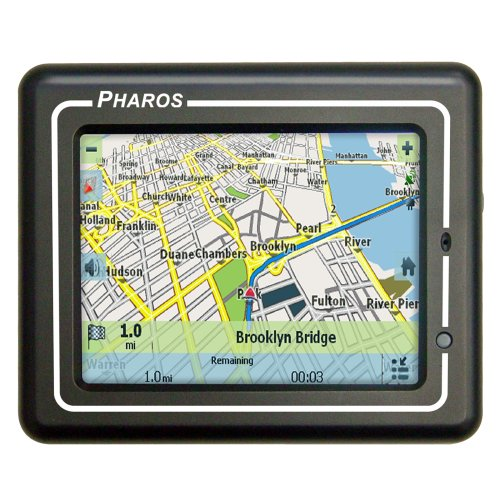 Pharos 150 3.5-Inch Widescreen Portable Drive GPS Navigator with Text-To-Speech (Black) (Pharos Gps Systems)