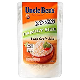 Uncle Ben\'s Express Long Grain Rice (400g) - Pack of 2