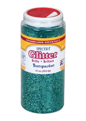 Spectra Glitter, 1 Lb., (Turquoise Glitter)