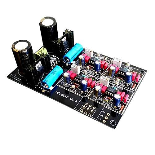 FidgetFidget High-end MBL6010D HiFi preamplifier DIY Kits Stereo Adopt JRC5534 Customized Upgraded Version Kit