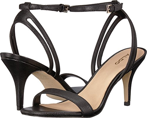 ALDO Women's Cadalessa Black Synthetic 7 B US