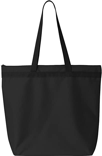 a8b0206f6 Image Unavailable. Image not available for. Color: Liberty Bags Adult Large  Tote with Zipper Closure ...