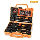 Jakemy Screwdriver set , 45 in 1 Magnetic Repair Tool Kit, Hardware Screwdriver Kit with Portable Box for iPhone/ Plus/ Computer / Tablet/ PC/ MacBook/ iPad and Other Electronics