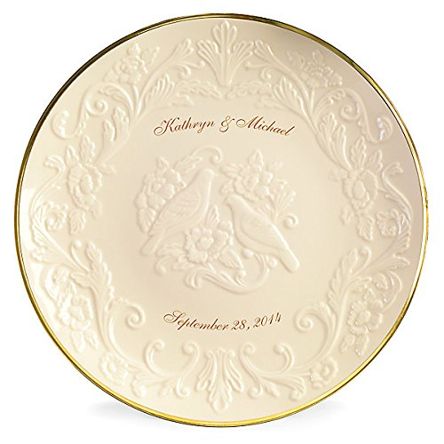 Personalized Wedding Plate - 7