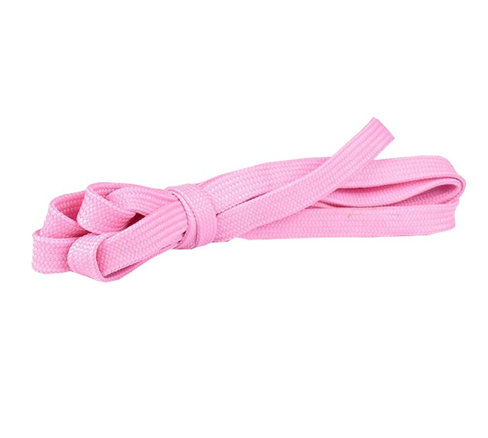 Flat Shoelaces [1 Pairs] Thick - For Shoes, Sneakers & Boots - Pink