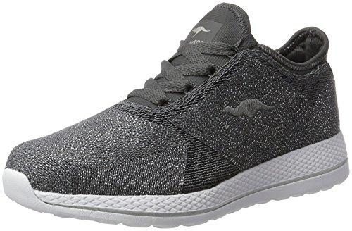 Kangaroos W-517, Zapatillas para Mujer Grau (Steel Grey/Silver)