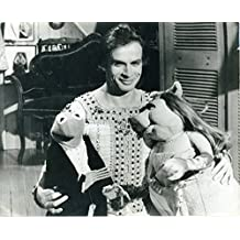 Nureyev, Rudolph. (1938-1993): Original Photograph with Miss Piggy and Kermit