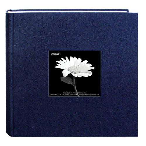 Paper Photo Album (Fabric Frame Cover Photo Album 200 Pockets Hold 4x6 Photos, Royal)