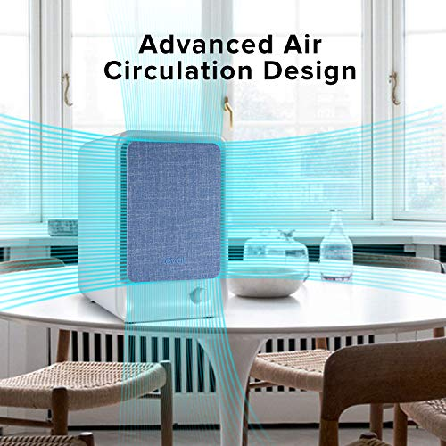 cheap levoit lv h126 air purifier with hepa filter desktop air cleaner for allergies and pets. Black Bedroom Furniture Sets. Home Design Ideas