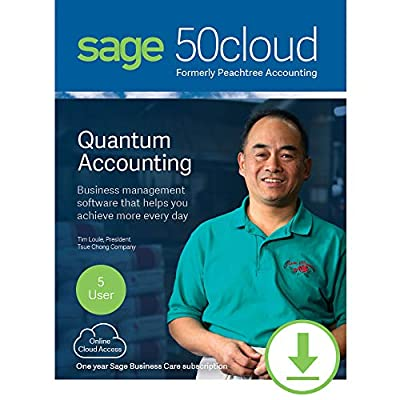 Sage 50cloud Quantum Accounting 2019 5 User [PC Download]