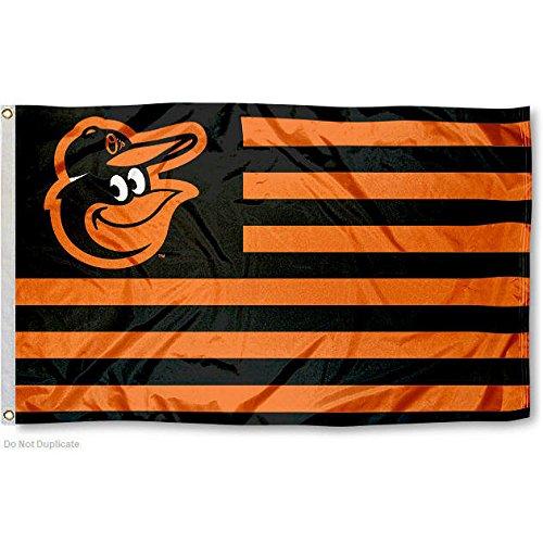Baltimore Orioles Nation Flag 3x5 Banner