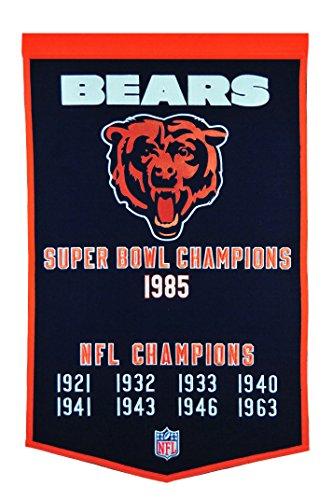Winning Streak NFL Chicago Bears Dynasty Banner Chicago Bears Nfl Wall