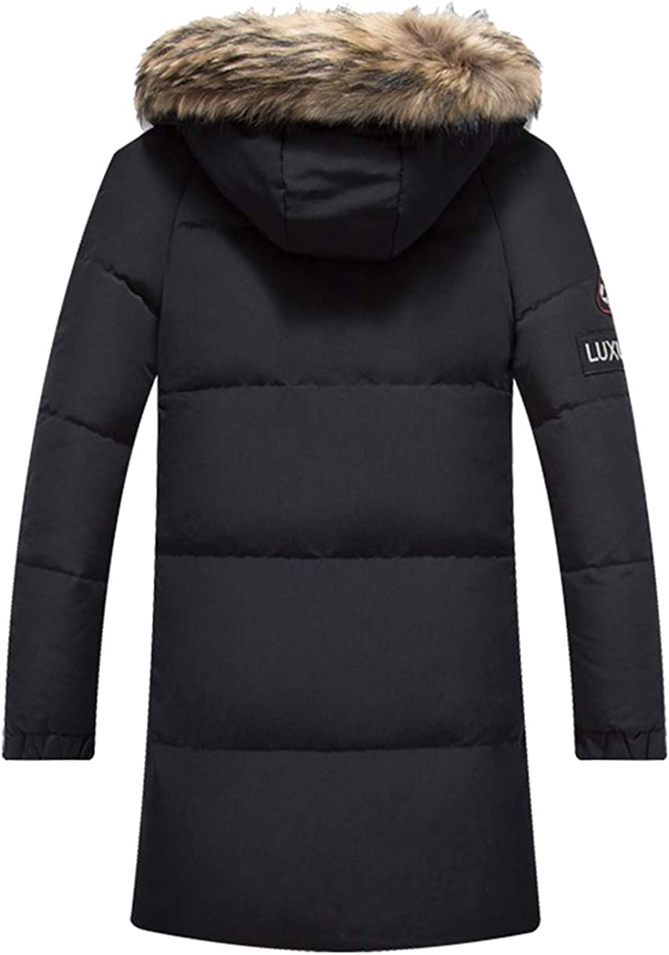 Oncefirst Mens Warm Down Jacket Winter Parka with Hood