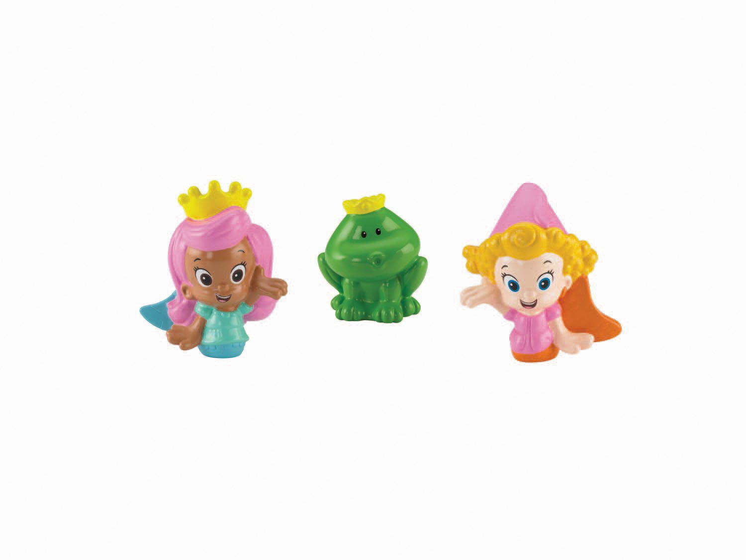 Fisher-Price Bubble Guppies, Molly, Deema and Frog Bath Squirters by Fisher-Price (Image #2)