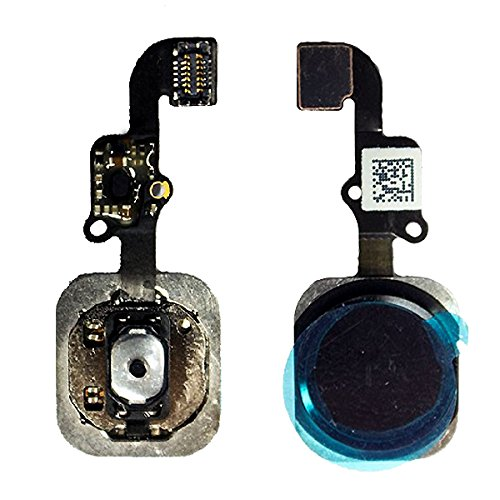 official photos eebf5 6aa46 Amazon.com: BisLinks Black Home Button Flex Cable Touch ID Assembly ...
