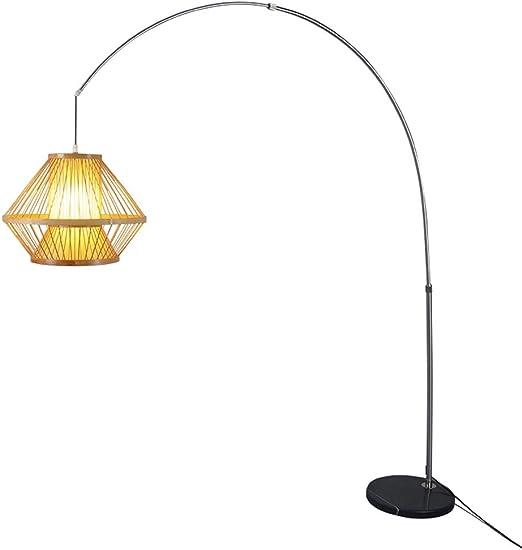 Nuevo estilo chino va a pescar lámpara de pie tipo Day House ...