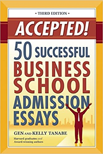 Essay for business school admission