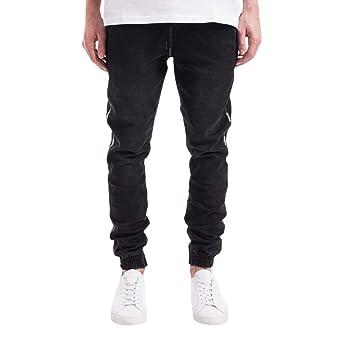 Pantalones vaqueros para hombre, elásticos, corte ajustado ...