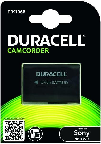 Duracell Dr9706b Li Ion Camcorder Ersetzt Akku Für Kamera