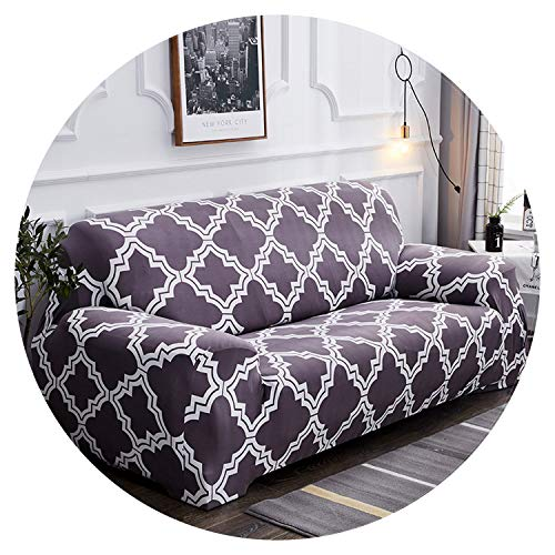 Slipcovers Sofa Cover Couch Cover Tight Wrap All-Inclusive Slip-Resistant Sofa Covers for Home Living Room Weddings,K214,AB 90-140cm (Flexsteel Slipcovers Sofa)
