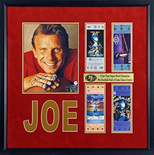 Joe Montana Framed - 5