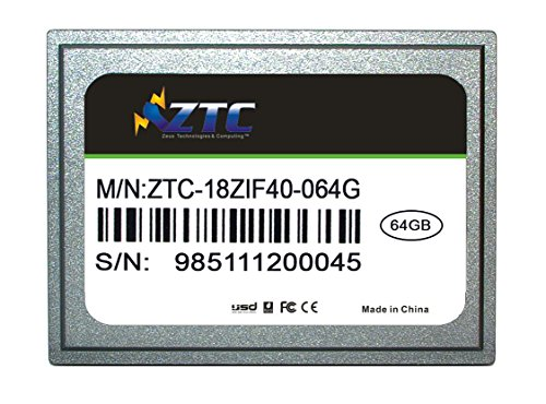ZTC 64GB Cyclone 40-pin ZIF 1.8-inch PATA SSD Enhanced So...