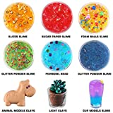 126 Pcs DIY Slime Making Kit for Girls Boys