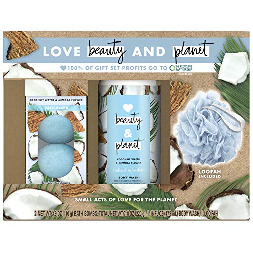 Love Beauty And Planet Radical Refresher Body Wash Coconut Water & Mimosa Flower 16 oz from LBP BODY WASH