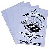 Hunt The Moon Inkjet Screen Printing