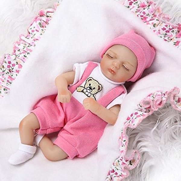 """8/""""20cm Mini Newborn Dolls Vinyl Silicone Lifelike Reborn Baby Cute Boy Gift"""