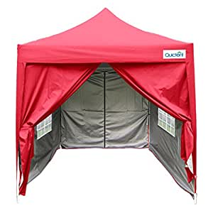 Amazon Com Quictent Silvox Waterproof 6 6x6 6 Ez Pop Up