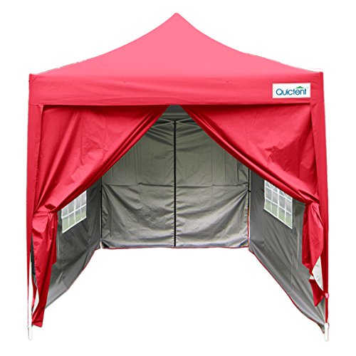 Quictent Silvox 6.6' X 6.6' Pop Up Canopy Tent Instant Canopy W/Carry Bag 4 colors 100% Waterproof