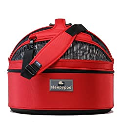 Sleepypod-Medium-Mobile-Pet-Strawberry