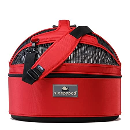 Sleepypod Mobile Pet Bed Strawberry Red mmsp-002
