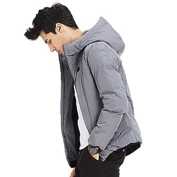 Abrigos Ropa/Hombre/Ropa Chaqueta de Hombre Invierno Personalidad Tendencia algodón de Invierno Gruesa Chaqueta de algodón cálido, Sombrero Grueso, ...