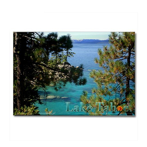 CafePress - Beautiful Lake Tahoe California Magnet - Rectangle Magnet, 2