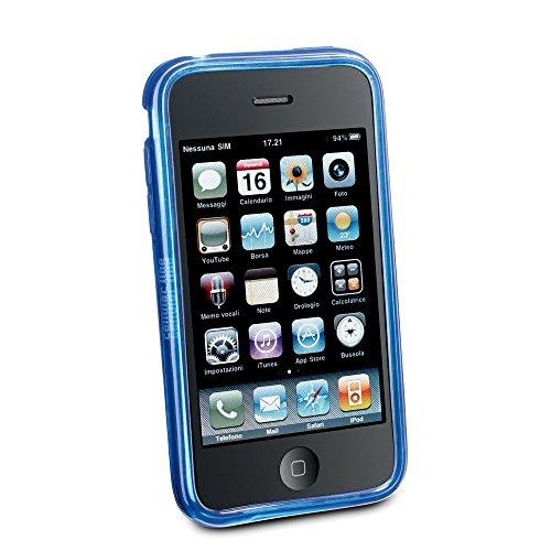CELLULAR lINE étui souple hexagonale pour apple iPhone 3 g/3GS-bleu