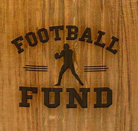 Mini Oak Barrel Piggy Bank Fund for Various Sports (Football Fund) by THOUSAND OAKS BARREL (Image #2)