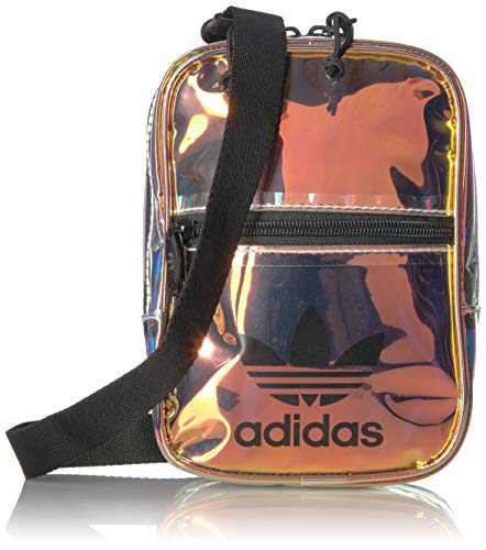 adidas Originals Originals Iridescent Festival Crossbody, Radiant Metallic, One - Festival Pack